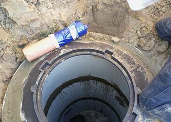 Готовим перелив для бетонного септика под ключ