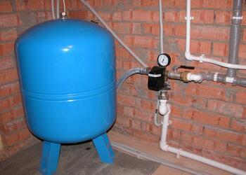 Подключение гидроаккумулятора, водоснабжение под ключ